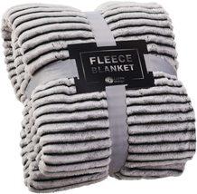 GREEN ORANGE Fleece Throw Blanket for Couch – 50x60, Lightweight,cozy - $45.80