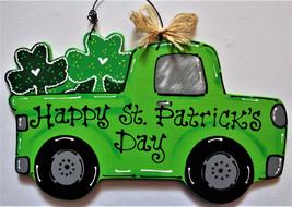 St. Patrick's Day VINTAGE TRUCK WALL ART Sign Door Hanger Hanging Plaque... - €23,70 EUR