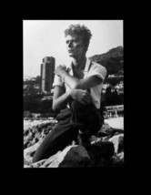 Helmut Newton 1983 David Bowie in Monte Carlo 1983 Portrait Rich BW Rock Star - $28.99