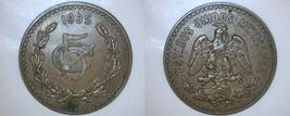 1935 Mexican 5 Centavo World Coin - Mexico - $14.99