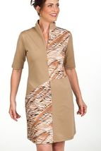 Stylish Golf/Casual Animal Print Golf Dress with Shortie - GoldenWear image 3