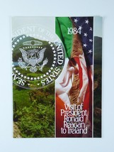 Original Visit of President Ronald Reagan to Ireland Program 1984 - $71.23