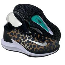 Nike Women's 6 Court Air Zoom Zero Tennis Shoes Leopard Cheetah AA8022-702 - $67.89