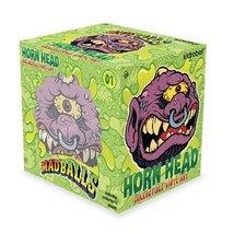 "Mad Balls Horn Head 6"" Medium Designer Collectible Vinyl Art Figure by K... - $50.00"
