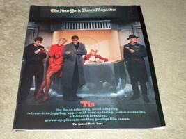 NY Times Magazine The Movie Issue; Blanchett; Clooney, Burton; Tarantino... - $24.95