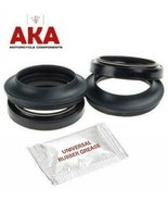 Fork seals & Dust seals & Fitment grease for Suzuki GSX600F 1988 - 2004 - $17.48