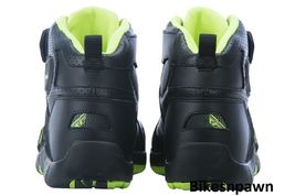 New Sz 12 Mens FLY Racing M21 Black/Hi-Vis Leather Motorcycle Street Riding Shoe image 3