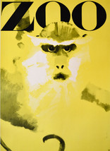 "11x14"" CANVAS Decor.Room design art print.Studio.Zoo.Monkey.Yellow.6089 - $30.00"
