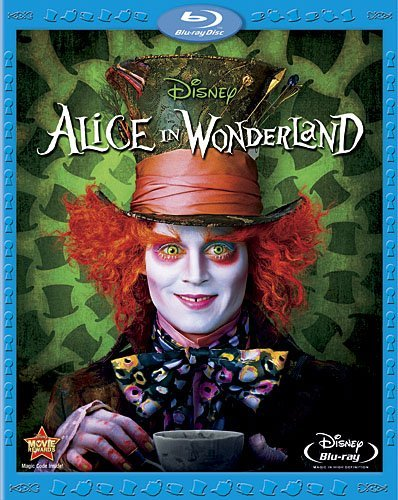 Disney Alice in Wonderland [Blu-ray]