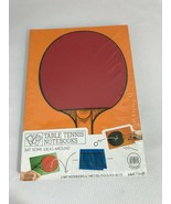 Table Tennis Notebook, 2 bat 100 page with net - $12.86
