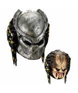 Rubies Alien Vs Predator Avp Predator Deluxe Adult Overhead Latex Mask 4149 - $57.50