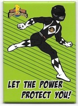 Mighty Morphin Power Rangers Let the Power Protect You Refrigerator Magn... - $3.99