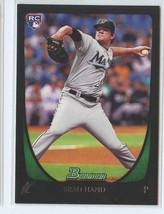 BRAD HAND RC 2011 Bowman Draft #45 Florida Marlins Baseball Sports Cards - $1.40