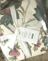 Pottery Barn Resi Duvet Cover Ivory King Floral Palampore No Shams New - $99.00