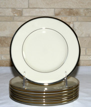 Lenox Montclair * 7 BREAD & BUTTER PLATES * Platinum, Mint Condition - $49.49