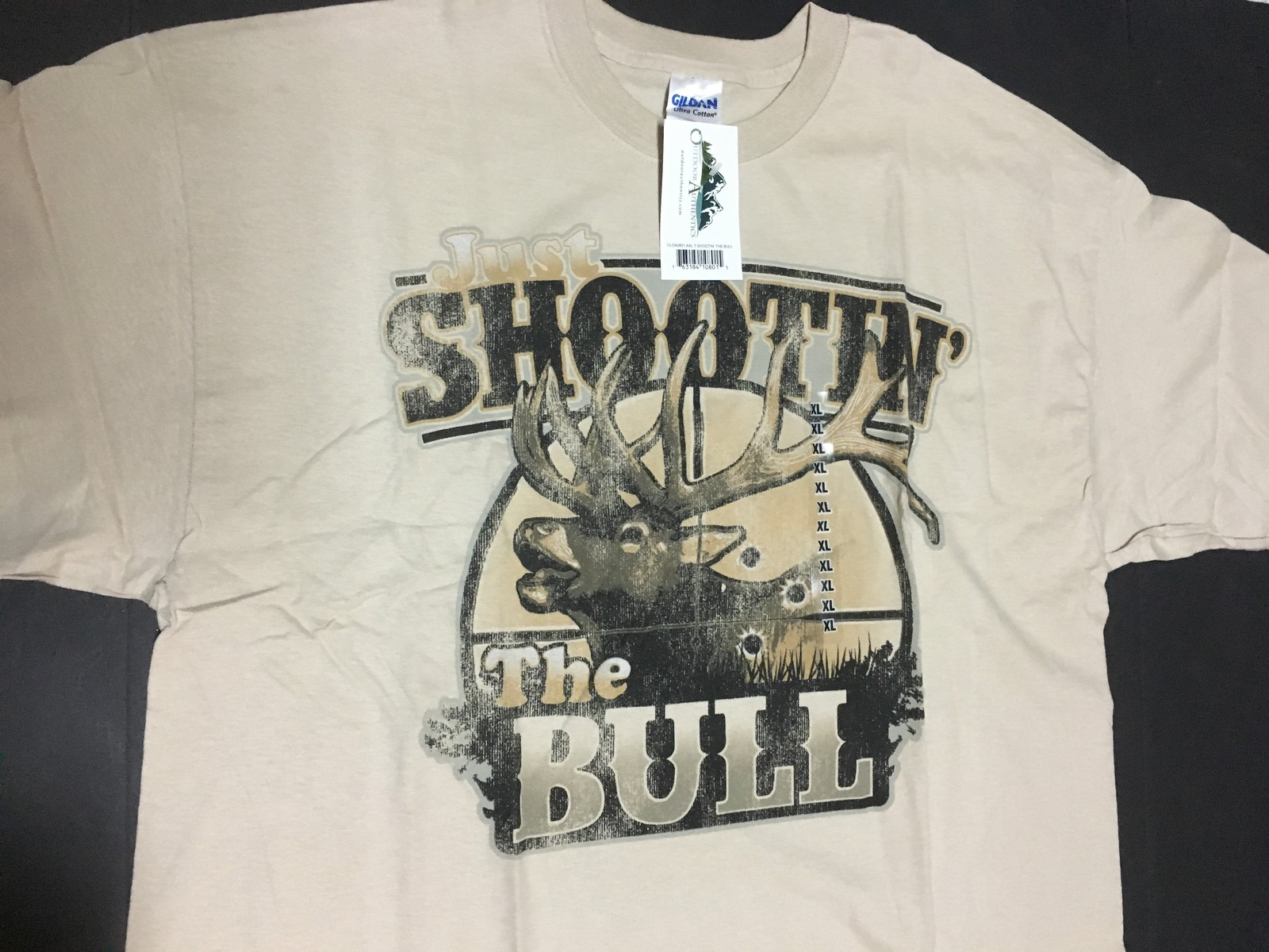 SHOOTIN THE BULL TShirt Outdoor Authentics Hunting Various Sizes NWT