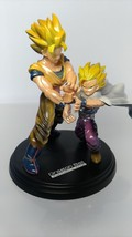 Dragon Ball   Bandai  Son Gokou & Son Gohan  Fantastic Arts Figure  NO BOX  used - $34.15