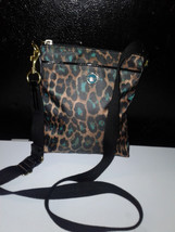 Coach Green Leopard Ocelot Crossbody Purse 77479 - $69.00