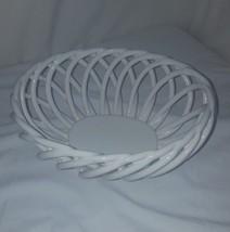 White Ceramic Web Basket - $19.80