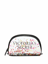 VICTORIA'S SECRET SPARKLE SEQUIN CLEAR MAKEUP COSMETIC BEAUTY BAG ORGANIZER - $9.28