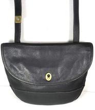 Fossil Vintage Black Pebbled Leather Crossbody Shoulder Bag – Well Worn - $28.12