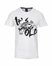 Bench Getting Old Urban Streetwear Men's White T-Shirt NWT image 1