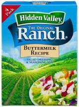 Hidden Valley Buttermilk Ranch Salad Dressing & Seasoning Mix, Gluten Free - Pac