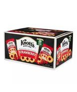 3 Boxes Knott's Berry Farm Strawberry Shortbread Cookies (2oz / 36pk/ box) - $95.00