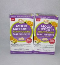 Healthy Delights Mood Support Fast Dissolves Orange Cream 2 Boxes - $15.00