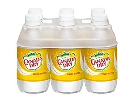 Canada Dry Tonic Water, 10 Fluid Ounce Plastic Bottle, 6 Count image 1