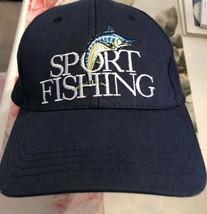 Sport Fishing Hat adjustable  Back Sport Fishing Nice! - $11.76