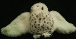 """Folkmanis Puppets 10"""" Snowy Owl Puppet Plush Awesome Head Turns Folktails - $22.18"""