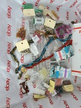 JEWELRY MAKING DIY BEAD BOARD, BEADS & BEADING MATERIAL See Photos (Bx4)