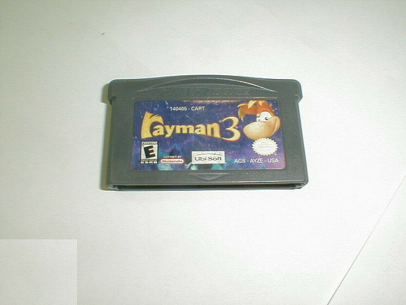 Rayman 3 Nintendo Game Boy Advance GBA 2003 Cartridge Only Tested