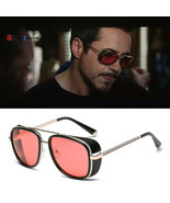 Iron Man 3 TONY stark Sunglasses Men Rossi Coating retro Vintage Designe... - $7.45