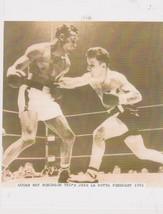 Sugar Ray Robinson Jake LaMotta Vintage 8X10 Sepia Boxing Memorabilia Photo - $4.99
