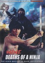 Nine Deaths of a Ninja movie DVD Sho Kosugi classic! martial arts action - $23.00
