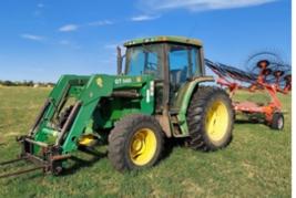 1994 JOHN DEERE 6400 For Sale In Cross Plains, Texas 76443 image 2