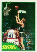 LOT of 25 REPRINT 1981 Topps #101 Larry Bird Super Action Celtics 2nd Card - $9.50