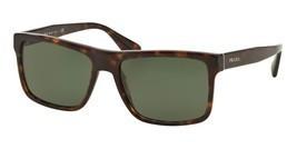 Prada 0PR 01SS Sunglasses Havana 2AU0B2 Size 57mm - £167.38 GBP