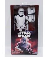 Disney Hasbro Star Wars The Force Awakens 12 inch First Order Flametrooper - $23.38