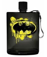 Spoontiques 21150 Batman Graffiti Acrylic Flask, 12 ounces, Black - $13.81
