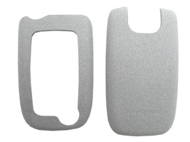 Sony Ericsson Z520 Z525 Front Back Battery Door Housing Case Original Cover Gray - $4.29