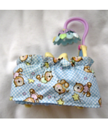 Fisher Price Loving Family Twin Time Blue Crib Mobile Nursery 2007 Dollh... - $11.99