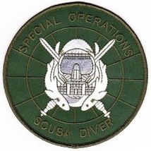 US Army Special Operations Scuba Diver Patch - $11.87