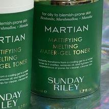 Sunday Riley Martian Mattifying Melting Water Gel Toner 1.7oz / 50ml NWOB image 3