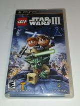 Lego Star Wars Iii: The Clone Wars (Sony Psp, 2011) - $11.99