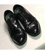 Florsheim Imperial Jefferson  Oxford Mens Wingtip Black Leather Shoes 8.5 D - $26.09