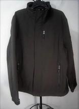 Calvin Klein NEW Coat Jacket L Large Water Resistant Stretch Comfort Black - $29.95