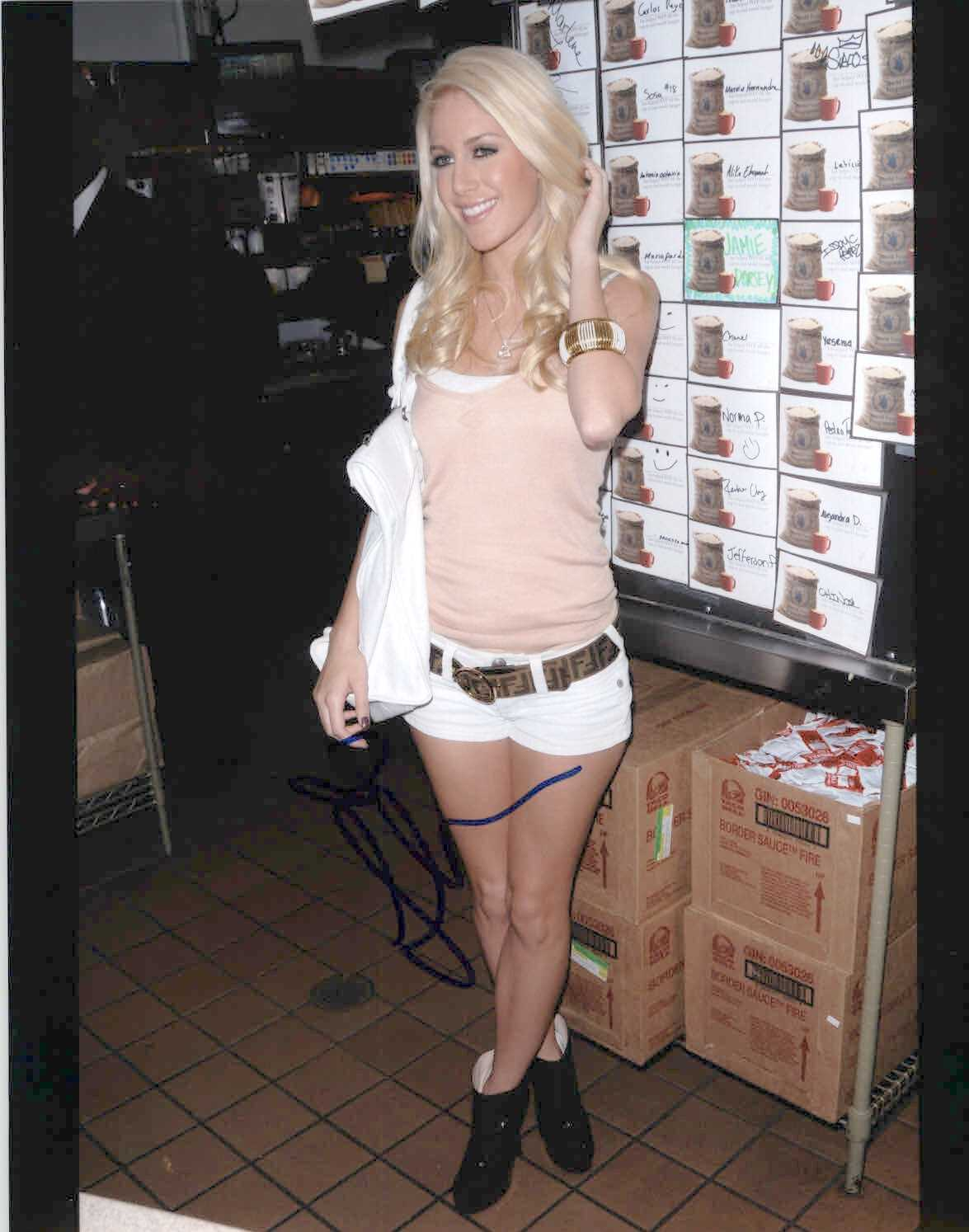 Primary image for Heidi Montag Signed Autographed Glossy 8x10 Photo